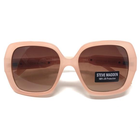 450f0fe63838a Steve Madden Pink Chunky Sunglasses NWT  89